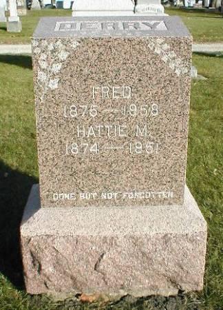 DERRY, HATTIE M. - Greene County, Iowa | HATTIE M. DERRY
