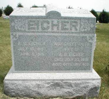 ALLEN EICHER, MARGARET RUTH - Greene County, Iowa   MARGARET RUTH ALLEN EICHER