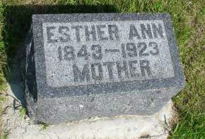 WELLMAN ELDRED, ESTHER ANN - Greene County, Iowa   ESTHER ANN WELLMAN ELDRED