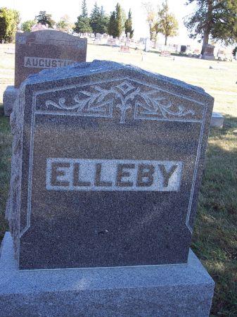 ELLEBY, FAMILY MONUMENT - Greene County, Iowa | FAMILY MONUMENT ELLEBY