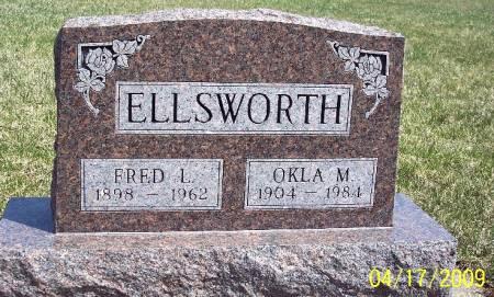ELLSWORTH, FRED LEON - Greene County, Iowa   FRED LEON ELLSWORTH