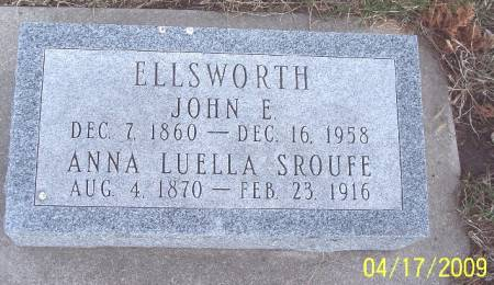 SROUFE ELLSWORTH, ANNA LUELLA - Greene County, Iowa | ANNA LUELLA SROUFE ELLSWORTH