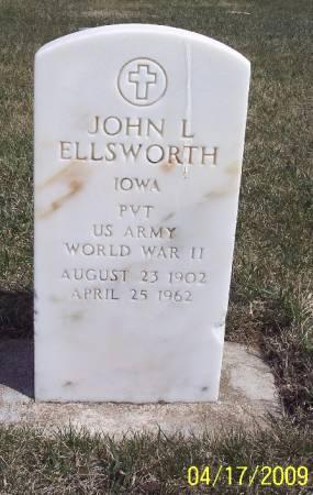 ELLSWORTH, JOHN LEE - Greene County, Iowa | JOHN LEE ELLSWORTH