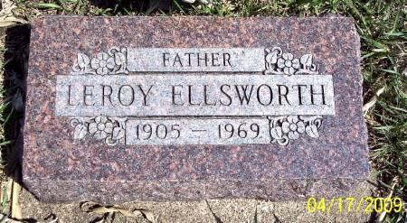 ELLSWORTH, LEROY - Greene County, Iowa   LEROY ELLSWORTH