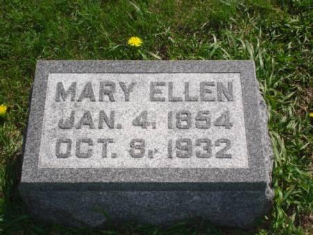WISE ERICKSON, MARY ELLEN - Greene County, Iowa | MARY ELLEN WISE ERICKSON