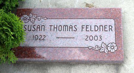 THOMAS FELDNER, SUSAN - Greene County, Iowa   SUSAN THOMAS FELDNER
