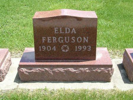 FERGUSON, ELDA - Greene County, Iowa   ELDA FERGUSON