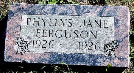 FERGUSON, PHYLLYS JANE - Greene County, Iowa | PHYLLYS JANE FERGUSON