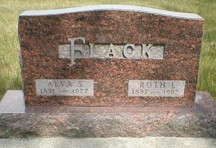 FLACK, RUTH I. - Greene County, Iowa | RUTH I. FLACK