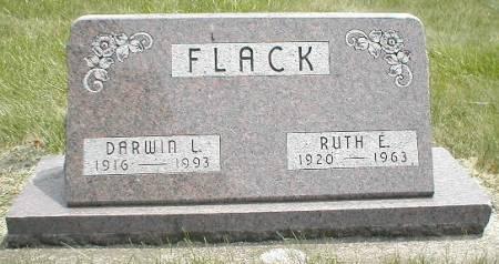 FLACK, RUTH E. - Greene County, Iowa   RUTH E. FLACK