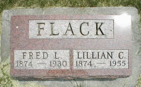FLACK, FRED L. - Greene County, Iowa | FRED L. FLACK