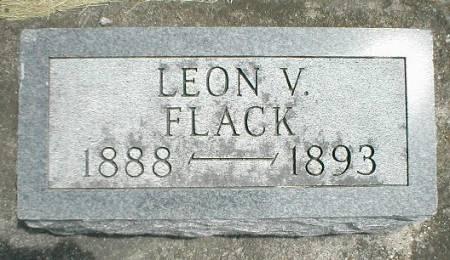 FLACK, LEON V. - Greene County, Iowa   LEON V. FLACK