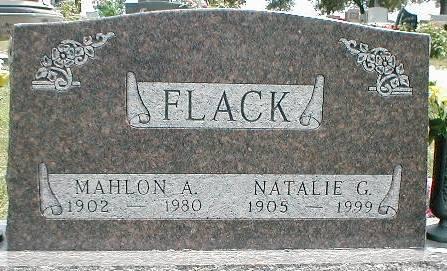 FLACK, NATALIE G. - Greene County, Iowa | NATALIE G. FLACK