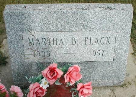 FLACK, MARTHA B. - Greene County, Iowa | MARTHA B. FLACK