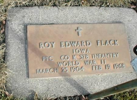 FLACK, ROY EDWARD - Greene County, Iowa | ROY EDWARD FLACK