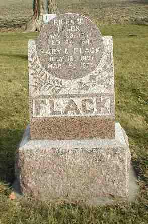 ROUSH FLACK, MARY - Greene County, Iowa | MARY ROUSH FLACK