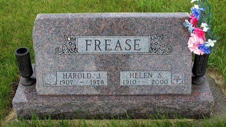 FREASE, HAROLD J. - Greene County, Iowa | HAROLD J. FREASE