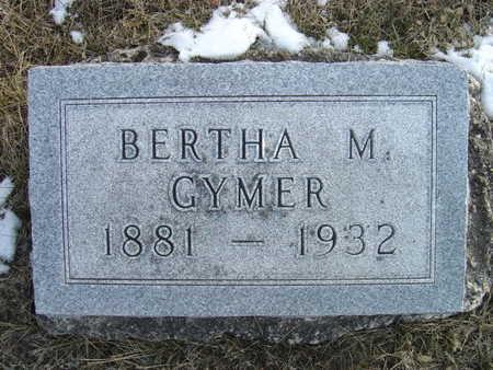 GYMER, BERTHA M. - Greene County, Iowa | BERTHA M. GYMER