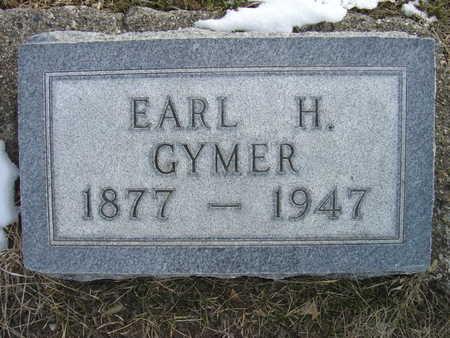 GYMER, EARL H. - Greene County, Iowa | EARL H. GYMER