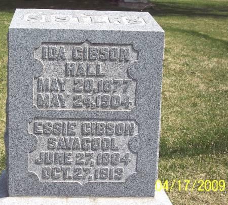 GIBSON SAVACOOL, ESSIE - Greene County, Iowa   ESSIE GIBSON SAVACOOL