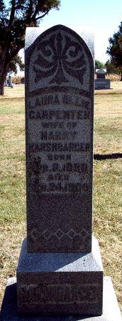CARPENTER HARSHBARGER, LAURA OLLIE - Greene County, Iowa   LAURA OLLIE CARPENTER HARSHBARGER