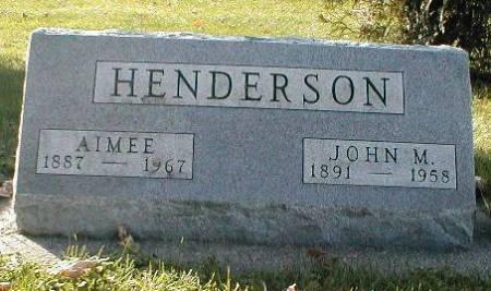 HENDERSON, JOHN M. - Greene County, Iowa | JOHN M. HENDERSON