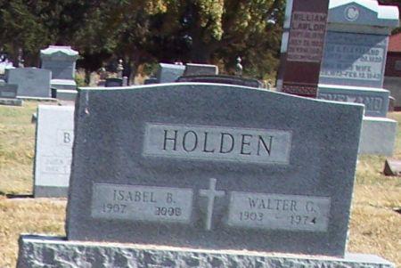 HOLDEN, ISABEL B - Greene County, Iowa | ISABEL B HOLDEN
