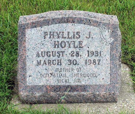 HOYLE, PHYLLIS J. - Greene County, Iowa   PHYLLIS J. HOYLE