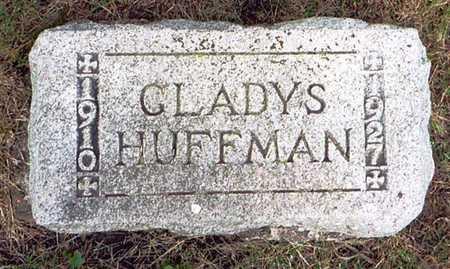 HUFFMAN, GLADYS - Greene County, Iowa   GLADYS HUFFMAN