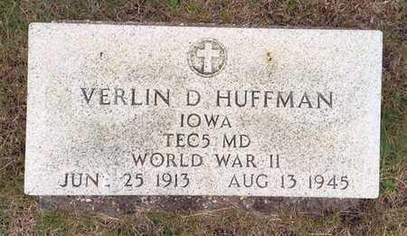 HUFFMAN, VERLIN D. - Greene County, Iowa | VERLIN D. HUFFMAN