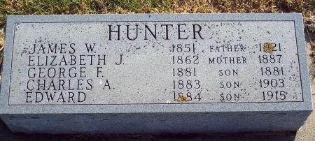 HUNTER, GEORGE FREDERICK - Greene County, Iowa | GEORGE FREDERICK HUNTER