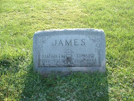 JAMES, ELIZABETH - Greene County, Iowa | ELIZABETH JAMES