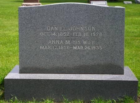 JOHNSON, DANIEL ARTHUR - Greene County, Iowa | DANIEL ARTHUR JOHNSON