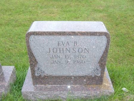 JOHNSON, EVA B. - Greene County, Iowa | EVA B. JOHNSON