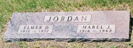 JORDAN, ELMER DONALD - Greene County, Iowa | ELMER DONALD JORDAN