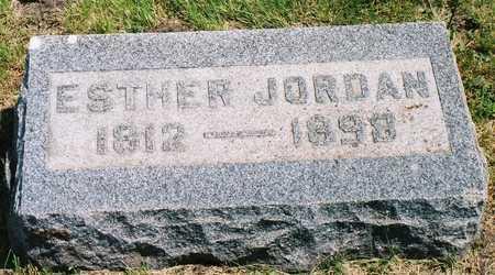 KEISTER JORDAN, ESTHER (HESTER) - Greene County, Iowa | ESTHER (HESTER) KEISTER JORDAN