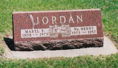 LINN JORDAN, MABLE PEARL - Greene County, Iowa | MABLE PEARL LINN JORDAN