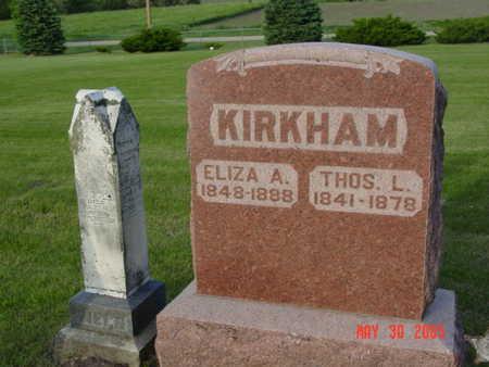 KIRKHAM, ELIZA - Greene County, Iowa | ELIZA KIRKHAM
