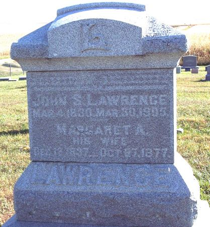 LAWRENCE, MARGARET A - Greene County, Iowa | MARGARET A LAWRENCE