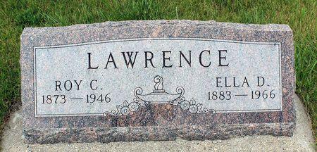 LAWRENCE, ROY C. - Greene County, Iowa   ROY C. LAWRENCE