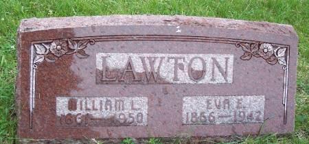 STEVENS LAWTON, EVA ESTELLA - Greene County, Iowa   EVA ESTELLA STEVENS LAWTON