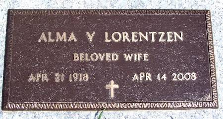 LORENTZEN, ALMA V - Greene County, Iowa | ALMA V LORENTZEN