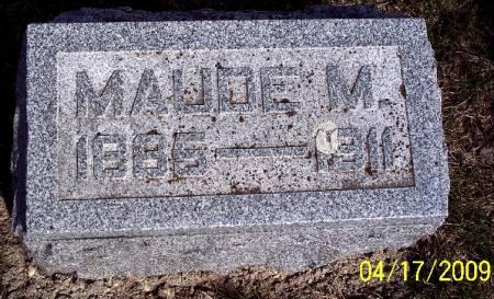 LUTHER, MAUDE M - Greene County, Iowa   MAUDE M LUTHER
