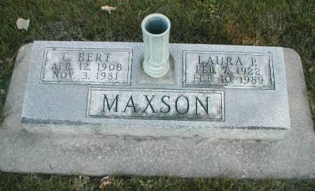 MAXSON, LAURA P. - Greene County, Iowa | LAURA P. MAXSON