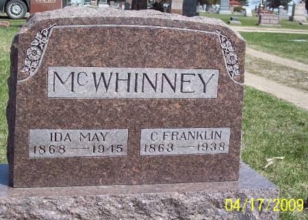 MCWHINNEY, IDA MAY - Greene County, Iowa | IDA MAY MCWHINNEY