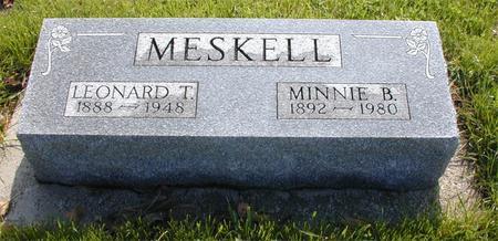 ROSE MESKELL, MINNIE - Greene County, Iowa | MINNIE ROSE MESKELL