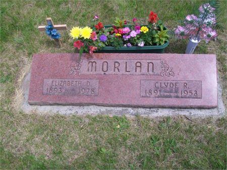 WRIGHT MORLAN, ELIZABETH D. - Greene County, Iowa   ELIZABETH D. WRIGHT MORLAN