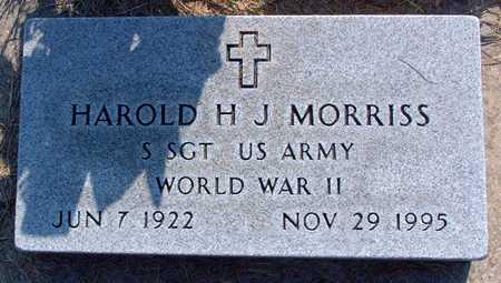 MORRISS, HAROLD - Greene County, Iowa | HAROLD MORRISS