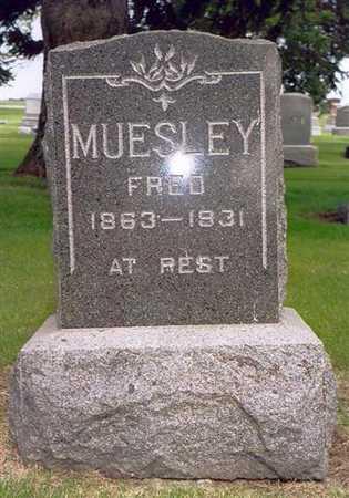 MUESLEY, FRED - Greene County, Iowa | FRED MUESLEY
