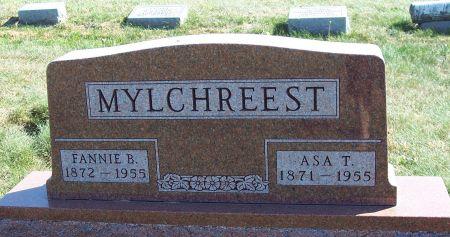 QUAYLE MYLCHREEST, FANNIE B - Greene County, Iowa   FANNIE B QUAYLE MYLCHREEST